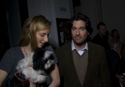 lily snyder in Neue Galerie Holiday Benefit Party