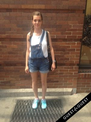 lina wolffheim in Summer 2014 NYC Street Style