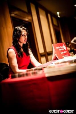 linda alvarez in 2013 Go Red For Women - American Heart Association Luncheon
