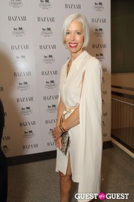 linda fargo in Harper's Bazaar Greatest Hits Launch Party