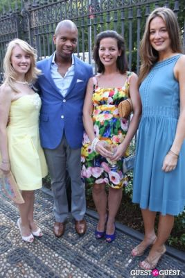 linda pratka in The Frick Collection's Summer Garden Party