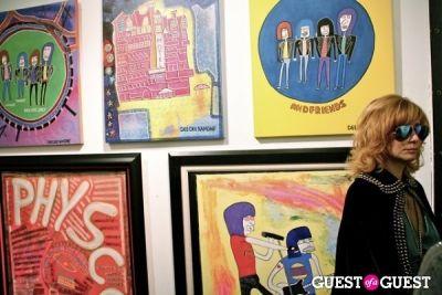 linda ramone in Lisa Eisner's 'Psychonaut' Party