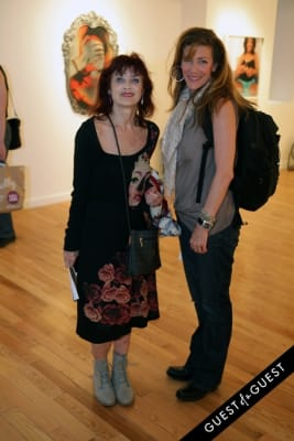 babette in Art Now NY Opening of