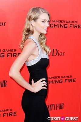 lindsay ellison in The Hunger Games: Catching Fire