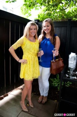 kelly donlin in Tinsley Mortimer at Nectar Skin Bar