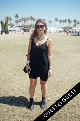 lindsey train in Coachella Festival 2015 Weekend 2 Day 3