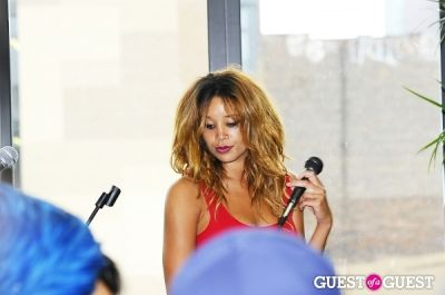 lionbabe in Everyday People Brunch at The DL Rooftop celebrating Chef Roble's Birthday