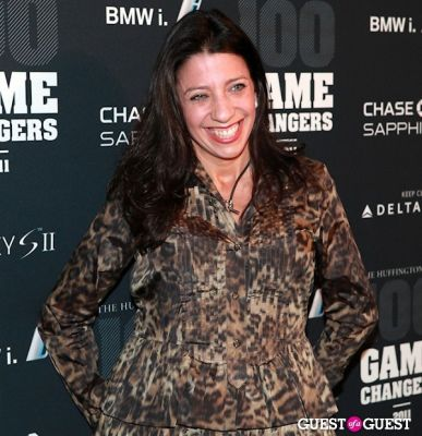 lisa anastos in 2011 Huffington Post and Game Changers Award Ceremony