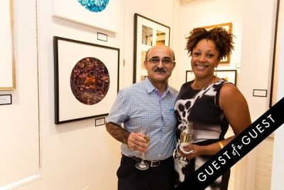 lisa brown in P Street Gallerie Opening
