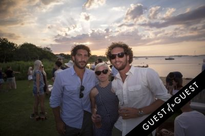 lisa detemple in GUEST OF A GUEST x DOLCE & GABBANA Light Blue Mediterranean Escape In Montauk