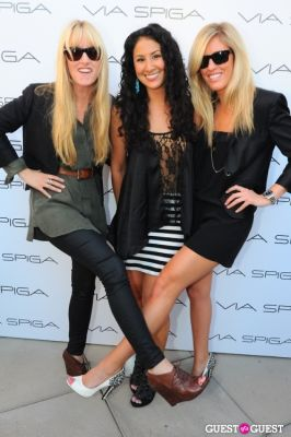 ariel bronson in VIA SPIGA 25TH ANNIVERSARY EVENT/PARTY