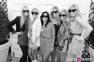 lisa robertz in VIA SPIGA 25TH ANNIVERSARY EVENT/PARTY