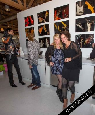 keri albright in Lisa S. Johnson 108 Rock Star Guitars Artist Reception & Book Signing