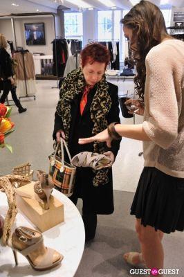lisa simek in Alexandre Birman PA at Bergdorf Goodman