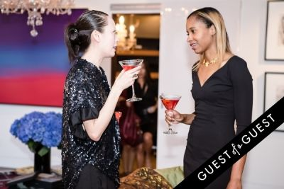 lisa xavier in Ebony and Co. Design Week Party