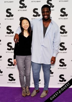 calvin play in Stylight U.S. launch event