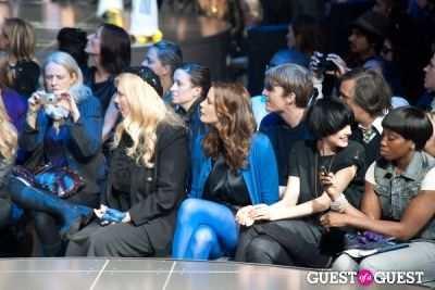 liv tyler in G-Star Raw Runway Show