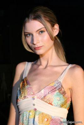 liz glynn in Juliette Longuet Fashion show at Soho House - Sneak Peek