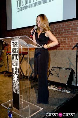 liz hopfran in FREE ARTS NYC Annual Art Auction Celebrating Richard Phillips