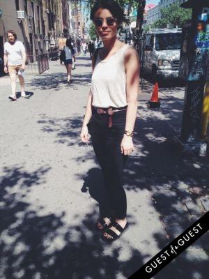 liz schlegel in Summer 2014 NYC Street Style