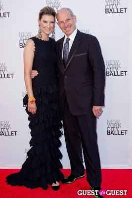 lizzie tisch in New York City Ballet's Fall Gala