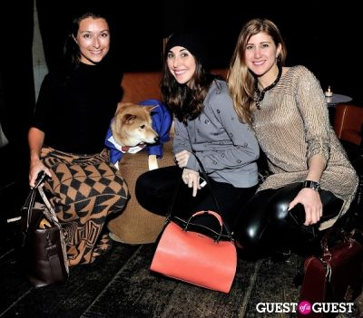 logan bromer in Menswear Dog's Capsule Collection launch party