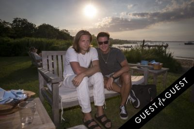 logan samuelson in GUEST OF A GUEST x DOLCE & GABBANA Light Blue Mediterranean Escape In Montauk