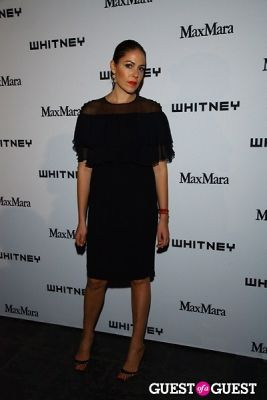 lola schnabel in 2013 Whitney Art Party