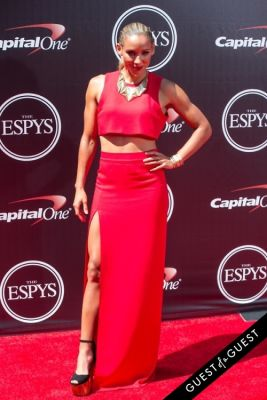 lolo jones in The 2014 ESPYS at the Nokia Theatre L.A. LIVE - Red Carpet
