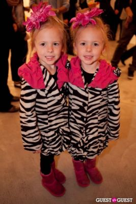jia milan-hibbard in Martin Schoeller Identical: Portraits of Twins Opening Reception at Ace Gallery Beverly Hills