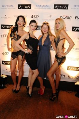 lorianna izrailova in Attica & Grey Goose 007 Black Tie Event
