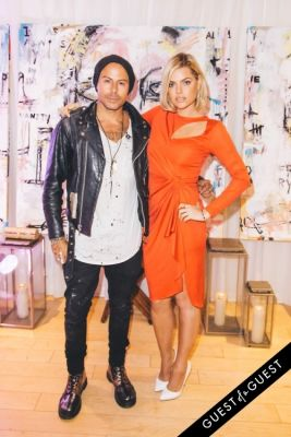 sophie monk in Louis Carreon's 'Faces', A Fine Art Installation