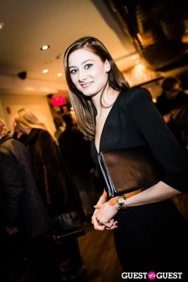 louisa madlen-knaust in Serafina Flagship Opening Party