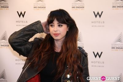 louisa rose-allen in Symmetry Live: An Exclusive Acoustic Performance by Foxes at W Hollywood