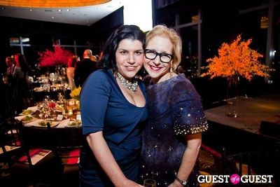 louise chazen-and-jennifer-dwork in Museum of Arts and Design's annual Visionaries Awards and Gala
