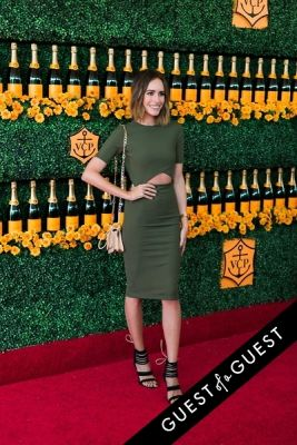 louise roe in The Sixth Annual Veuve Clicquot Polo Classic Red Carpet