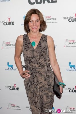 luann de-lesseps in Stand Up for a Cure 2013 with Jerry Seinfeld