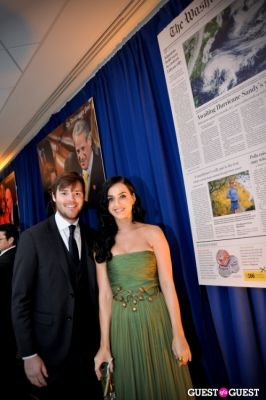 lucien zeigler in Washington Post WHCD Reception 2013