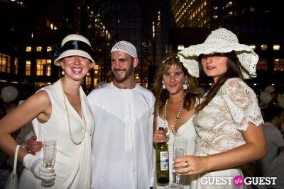 sarah maslin-nir in Diner En Blanc's New York Premiere