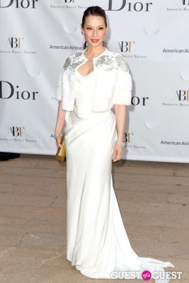 lucy liu in American Ballet Theatre's Spring Gala
