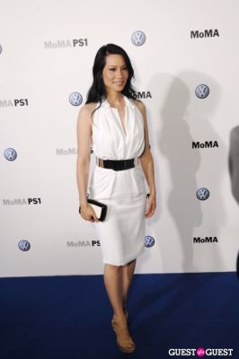 lucy liu in VOLKSWAGEN, MoMA and MoMA PS1 host a celebratory dinner