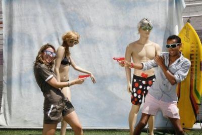 lucy mcintyre in Quiksilver/Standard Summer Extravaganza