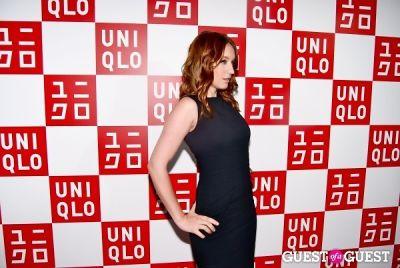 ludivine sagnier in UNIQLO Global Flagship Opening