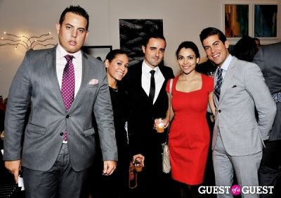 luis d.-ortiz in Luxury Listings NYC launch party at Tui Lifestyle Showroom
