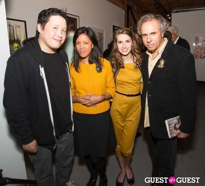 luke chueh in Cat Art Show Los Angeles Opening Night Party at 101/Exhibit