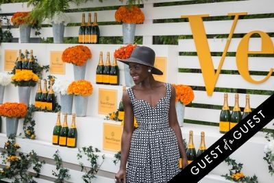 lupita nyong-o in Veuve Clicquot Polo Classic 2014