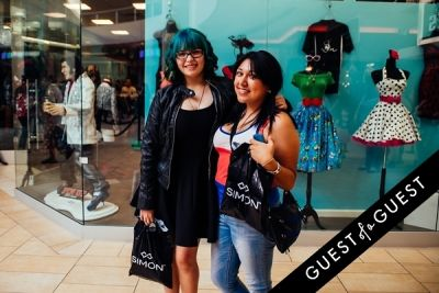 luz vasquez in Back-to-School and the ABC's of Style with Teen Vogue and The Shops at Montebello