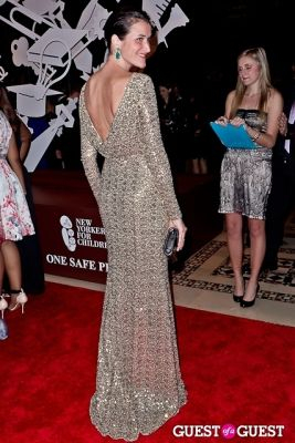 lydia fenet in New Yorkers for Children Fall Gala 2013