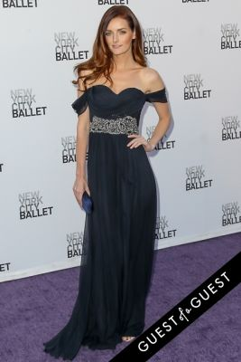 lydia hearst in NYC Ballet Fall Gala 2014