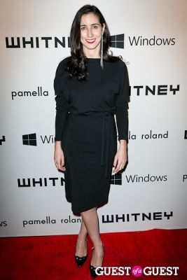 lydia melamed-johnson in Whitney Museum of American Art's 2012 Studio Party